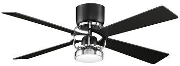ceiling fan black. homey ideas black and silver ceiling fan creative fanimation camview fps6225bl in