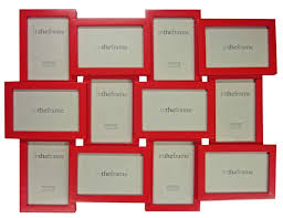Red Photo Frames Red Collage Photo Frame Domestic Sluttery Dunelm Mill Collage Photo