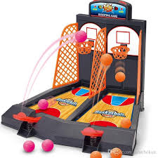 Wooden Hoop Game Basketball Shooting Game Children Desktop Table Best Classic 48