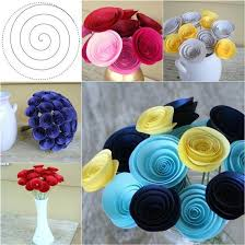 Easy Paper Flower How To Diy Easy Swirly Paper Flower