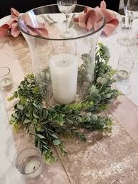 full size of diy eucalyptus table runner how to make a garland table runner bulk greenery