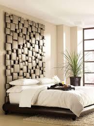 Headboard With Unique Design Idea For Modern Bedroom
