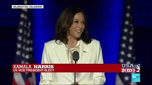 We ask all patriots who appreciate the evil we expose and want to help us savage the nwo with more. Biden Wins Voters Ushered In New Day For America Says Vice President Elect Kamala Harris France 24