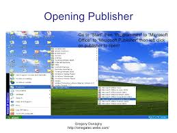 Ms Office Publisher Microsoft Publisher Overview