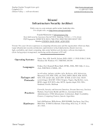 Software Architect Resume Examples Cute Software Architect Resume