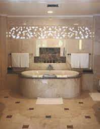 amusing bathroom wall tiles design. Bathroom. Interesting Bathroom Presenting Beige Ceramics Bathtub And Mocha Ceramic Tile Flooring Also Double Towel Amusing Wall Tiles Design