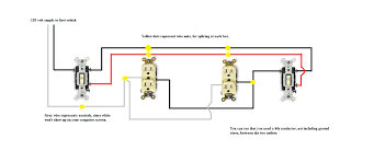 can i wire two three way switches to control 2 duplex receptacles full size image