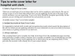 Deli Attendant Sample Resume Extraordinary Resume Examples For Hospital Unit Clerk Also 44 Tips To Write Cover
