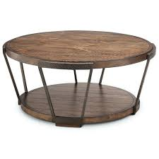 rustic round coffee table farmhouse for