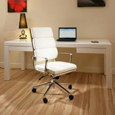 luxury leather office chair. Modern Luxury Office Chair Ivory Leather Executive Ergonomic SavO7 Wht N