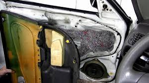 Toyota Corolla Chevrolet Prizm Door Panel Removal - YouTube