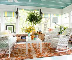 sun porch furniture ideas. 4. Lay Down A Rug Sun Porch Furniture Ideas P