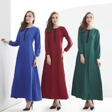 Turkish Abaya Design Fashion Muslim Dress Long Sleeve Arab Garment Abaya Women