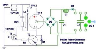diy homemade power pulse generator rmcybernetics power pulse generator circuit diagram
