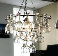 wine rack chandelier glass hanging type home design inspirations