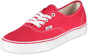 vans shoes red and white. vans authentic shoes red and white