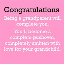 Baby Congratulations Sayings To Grandparents Odeon