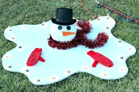 7 outdoor snowman decorations for winter wonderland plastic christmas abominable . Plastic Cup Snowman Outdoor Christmas Decorations Impossibly