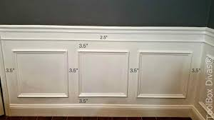 wainscoting ideas diy