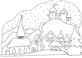 35 Winter Coloring Pages - ColoringStar