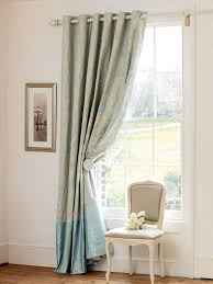 sears bedroom curtains. amusing soft blue long classic satin sears curtains tied in part design: enchanting bedroom