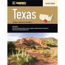 Universal Map Texas Road Atlas Walmart Com