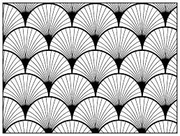 Small Picture Geometric patterns art deco 2 Art deco Coloring pages for