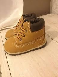 Designer Crib Shoes Uk New Baby Timberland Boots Size Uk 0 5 Tan Colour Ha