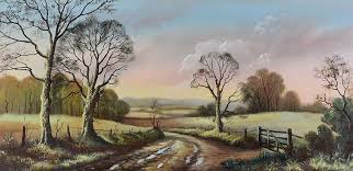 A COUNTRY ROAD by Wendy Reeves