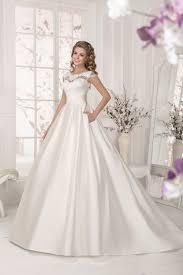 FARLETTA Vestido de noiva simples Satin Preiswerte Hochzeit Kleid ...