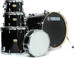 yamaha stage custom. features a beautiful high-gloss lacquer finish. hardware and cymbals sold separately. yamaha stage custom