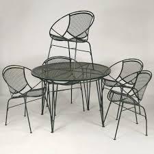modern metal outdoor furniture photo. Mid Century Modern Patio Furniture Metal Chairs . Outdoor Photo