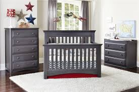 grey furniture nursery. Dark Grey Nursery Furniture