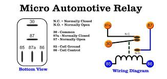 relay wiring spst diagram picture relay discover your 5 pole relay wiring diagram nilza