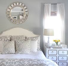 decorative pictures for bedrooms. Sunburst Mirrors And Contemporary Bedding Also Curtain Ideas For Decorating Bedrooms With Decorative Pillow Table Lamp Gray Wall Pictures E