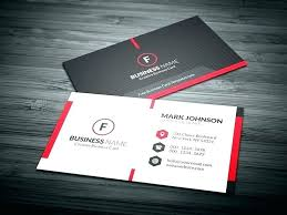 Name Card Design Sample Best Free Business Templates Psd File