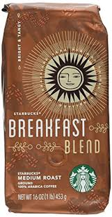 A wonderful first cup of the day. Amazon Com Starbucks Breakfast Blend 1 Lb Ground Coffee Starbucks Morning Roast Grocery Gourmet Food