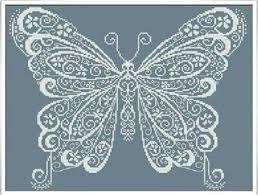 Butterfly Patterns Adorable Alessandra Adelaide Butterfly Cross Stitch Pattern 48Stitch