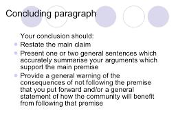 conclusion of argumentative essay paragraph writing conclusions to argumentative essays examples
