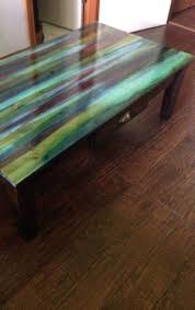 black wood table top. S 13 Mind Blowing Things You Can Do With This Magical New Stain, Painted Furniture, Painting, Mix Hues On A Table Top Black Wood