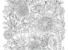 Flower Design Coloring Pages Coloring Flower Pattern Coloring Pages