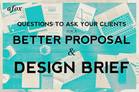 Questions To Ask Clients For Graphic Design Questions To Ask Your Clients For A Better Proposal And