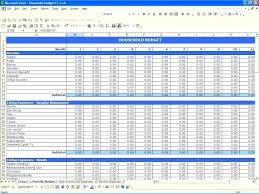Income And Expense Template Free Income And Expense Worksheet For Small Business Monthly