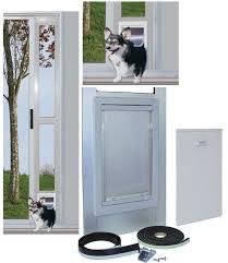 sliding glass door cat flap