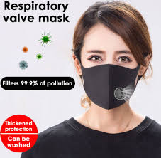 Washable <b>Dustproof Anti Haze</b> Protective Mouth <b>Face Mask</b> with ...