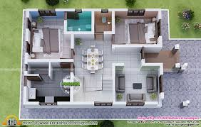 3 bedroom home design plans. Brilliant Home 1730 Square Feet 3 Bedroom Double Floor Sloping Roof Home Design And 3D Plan Inside Plans