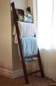 Diy Blanket Ladder Diy Blanket Ladders Lolly Jane
