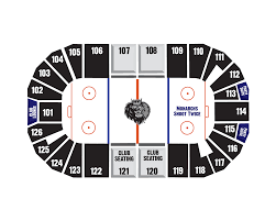 Manchester Monarchs Seating Map