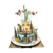New York Birthday Cake