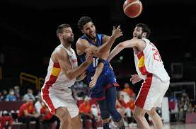 USA Basketball beats Spain in knockout ...